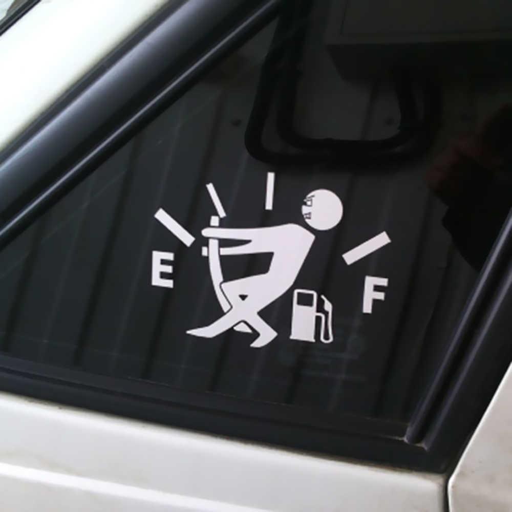 عاكسة لطيف النفط نقص سيارة الجسم التصميم ملصق للإزالة للماء ل تسلا نموذج 3 Bmw فورد VW فولكس واجن أودي بيجو