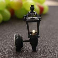 Miniatura уличный светодиод Электронные продукты пейзаж для кукольного дома аксессуары моделирование уличные лампы DIY Декор игрушки подарок