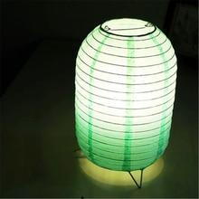 Modern LED Tbale Lights Bedroom Lighting Table Lamps Paper Lampshade Desk Living Room Interior Decor Fixtures