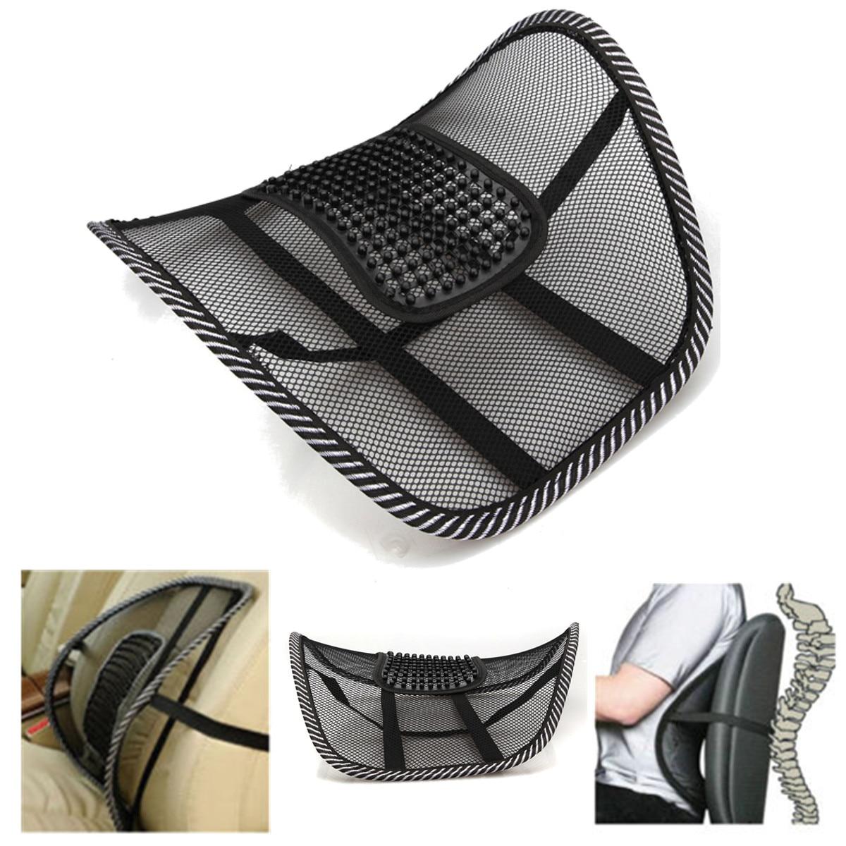 Universal Car Seat Chair Back Massage Lumbar Support Waist
