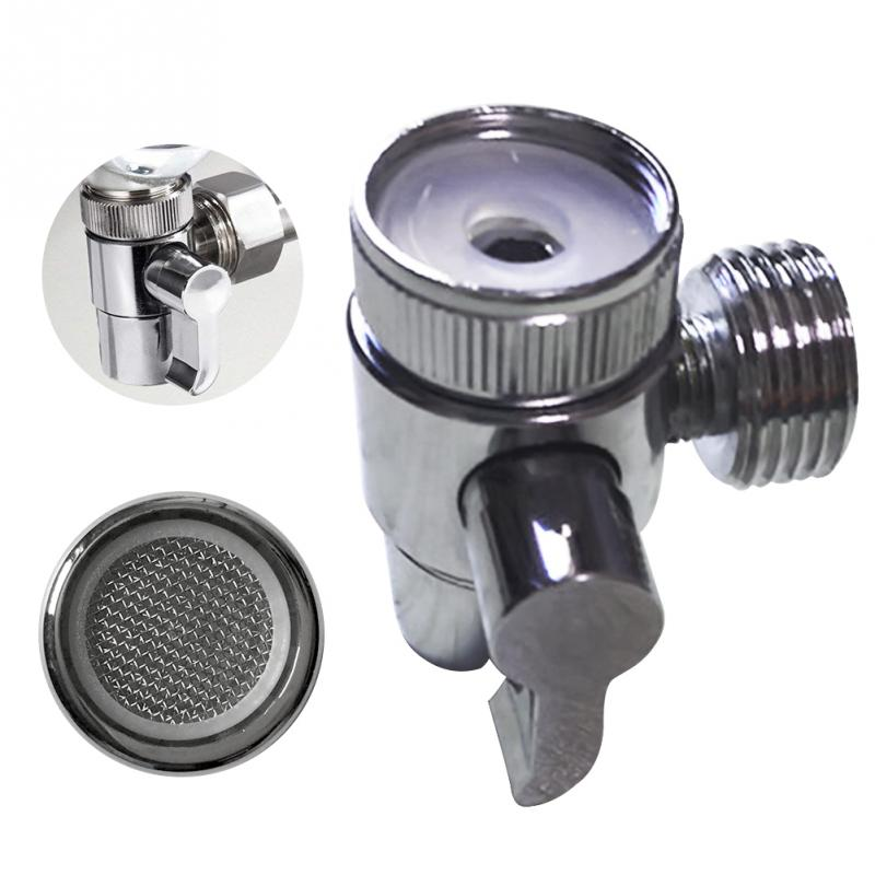 1/2'' Faucet Diverter Valve Toilet Switch Single Way Control Valve Kitchen Bath Sink Tap Accessory For Shower Hose Hand Shower