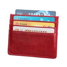 Bank Card Bag RFID Business Retro Credit Card Bag Bus Card Cover banjini bathroom bag bagping cotton card card card card cotton