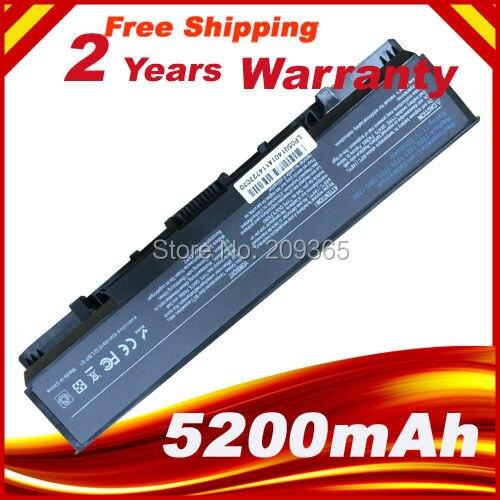 5200mAh  Battery For Dell Vostro 1500 1700 For Inspiron 1520 1521 1720 1721 GK479 GR995 KG479 NR222 NR239 TM980 FK890 312-0520