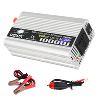 Inverter USB 1000W Watt DC 12V to AC 220V Portable Car Power Charger Converter Adapter DC 12 to AC 220 Modified Sine Wave 1000w
