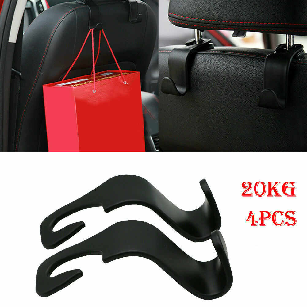 2019 Nieuwste Hot 4 PCS Car Seat Coat Hook Purse Bag Opknoping Hanger Auto Bag Organizer Houder