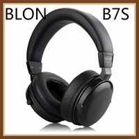 BLON B7S BossHifi HiFi Music Wooden Headphones 50mm Speaker Dynamic Noise Cancelling Active Monitor Studio DJ Stereo Headset