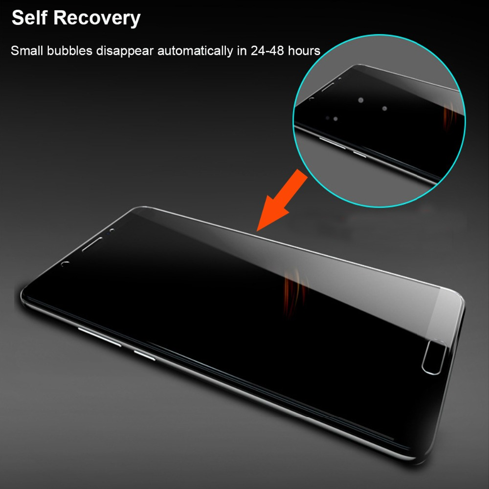 Image 5 - 2PCS 6D Front+Back Soft TPU Screen Protector Film For Samsung Galaxy A70 Hydrogel Film With Install Tools Not Glass-in Phone Screen Protectors from Cellphones & Telecommunications on