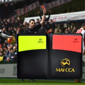 Football Red And Yellow Cards
