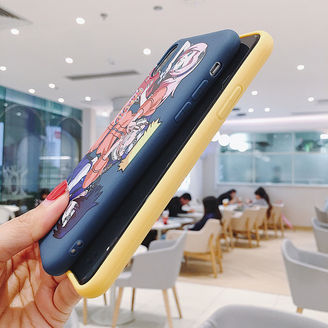 New Sasuke Naruto Silicone Soft Case for iPhone