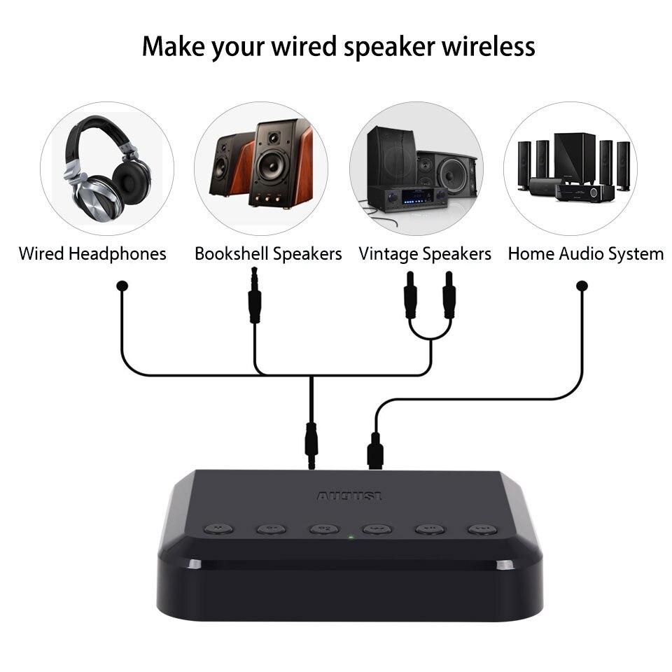 Récepteur Audio WIFI sans fil WR320 Airplay, Spotify, DLNA adaptateur de flux sonore Multiroom adaptateur Audio musique Bluetooth