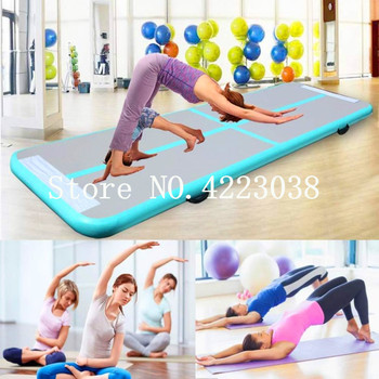 Free Shipping 1-3m Inflatable Gymnastics AirTrack Tumbling Air Track Floor Trampoline for Home Use/Training/Cheerleading/Beach