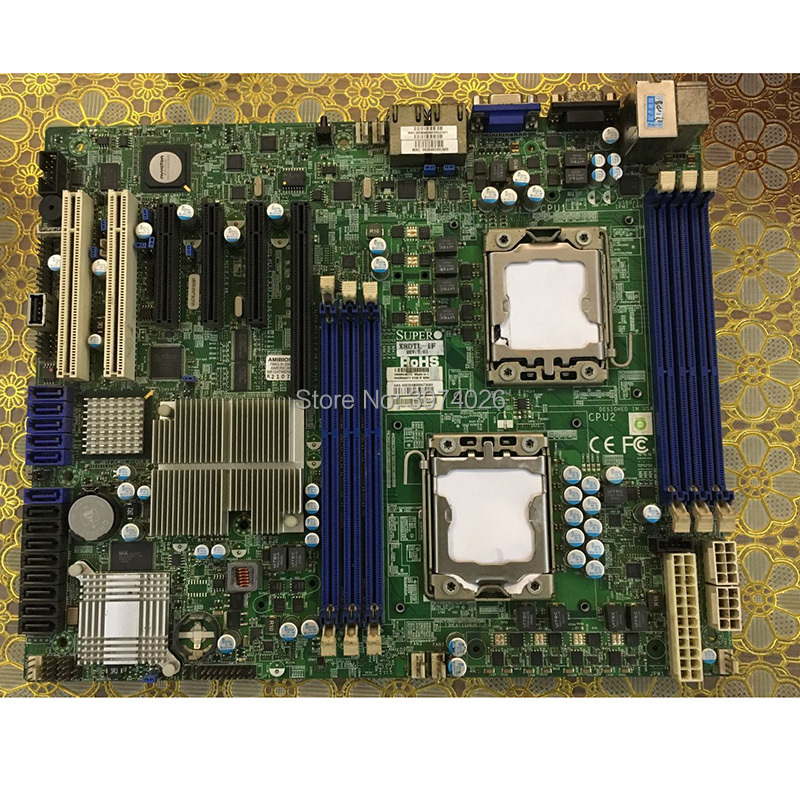 US $150 0 |X8DTL iF dual X58 1366 server workstation motherboard-in  Replacement Parts & Accessories from Consumer Electronics on Aliexpress com  |