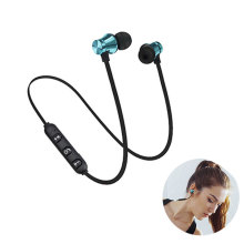 Wireless Magnetic Headset Stereo Bluetooth 4.1 Earphone Metal Sweatproof Sports Earphones With Mic For Xiaomi IPhone цены