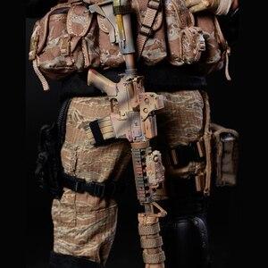 Image 5 - NFSTRIKE 30cm 1/6 מטלטלין צוות חקירת איור ריינג ר צבאי חייל דגם באיכות גבוהה פעולה איור חייל דגם