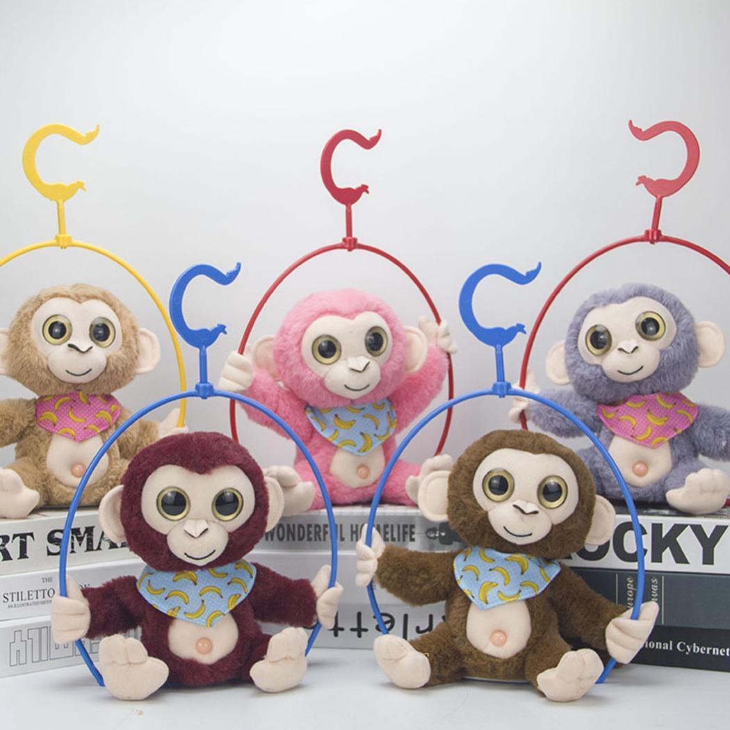 Cartoon Electronic Recording Toys Plush Talking Monkey Doll Interactive Toys Soft Birthday Gift Mimicry Pet Talking Cute Kawaii 4
