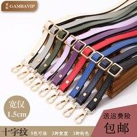 Single Shoulder Package Straps Messenger Ma'am Bag Tape Package Parts Bring A Leather Bag Backpack Tape Width Coloured Ribbon