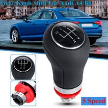 1 Pcs Manual 5 Speed 6 Speed Auto Pookknop Hefboom Stick Pen Handvat Hoofd 12mm voor Voor audi A4 B6(China)