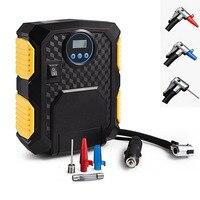 12V 150PSI Car Air Compressor For Car Motorcycles Bicycles Digital Tire Inflator DC Car Portable Air Compressor Pump