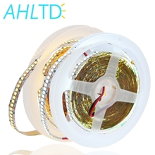 1m 2m 3m 4m 5m/lot 10mm PCB 2835 SMD 1200 LED Strip tape DC 12V ip20 Non waterproof Flexible Light 240 leds/m White Warm White цена и фото