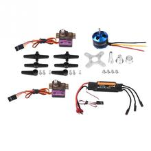 A2212 2450KV Brushless Motor With Lower Seat + 40A ESC + 2Pc