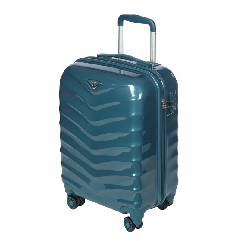 Suitcase-trolley Verage GM15059W19 smoke blue
