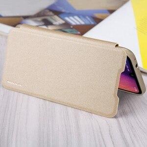Image 5 - Nillkin Redmi Note 7 Pro Note 7S ケーススパークルシリーズ高級フリップレザーバックカバー Nilkin 電話ケース Xiaomi Redmi Note 7 キャパ