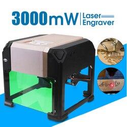 2000/3000 mW Laser Incisore FAI DA TE Logo Marchio Taglierina Stampante Laser Incisione Intagliare Macchina di Uso Domestico PER LA VITTORIA per Mac OS sistema di