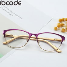 iboode Reading Glasses Unisex Women Men Optical Computer Ultralight Mirror Presbyopia Eyewear Anti-Reflective Reader