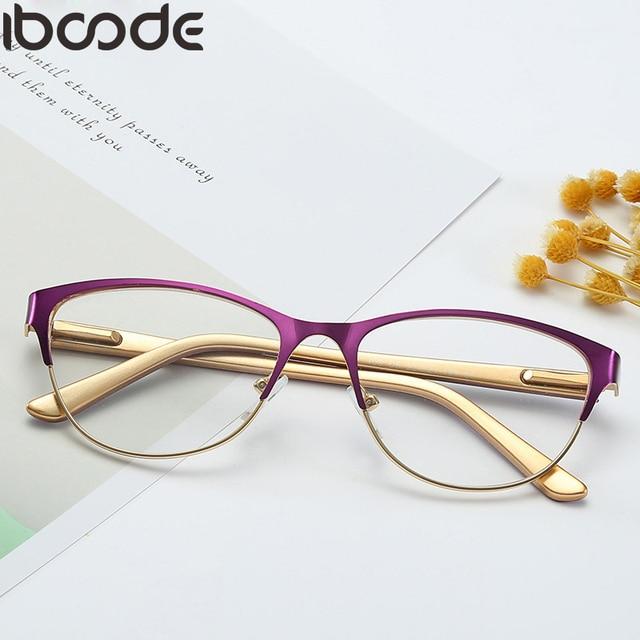 iboode Reading Glasses Unisex Women Men Optical Computer Glasses Ultralight  Mirror Presbyopia Eyewear Anti-Reflective 4760ad79bd65