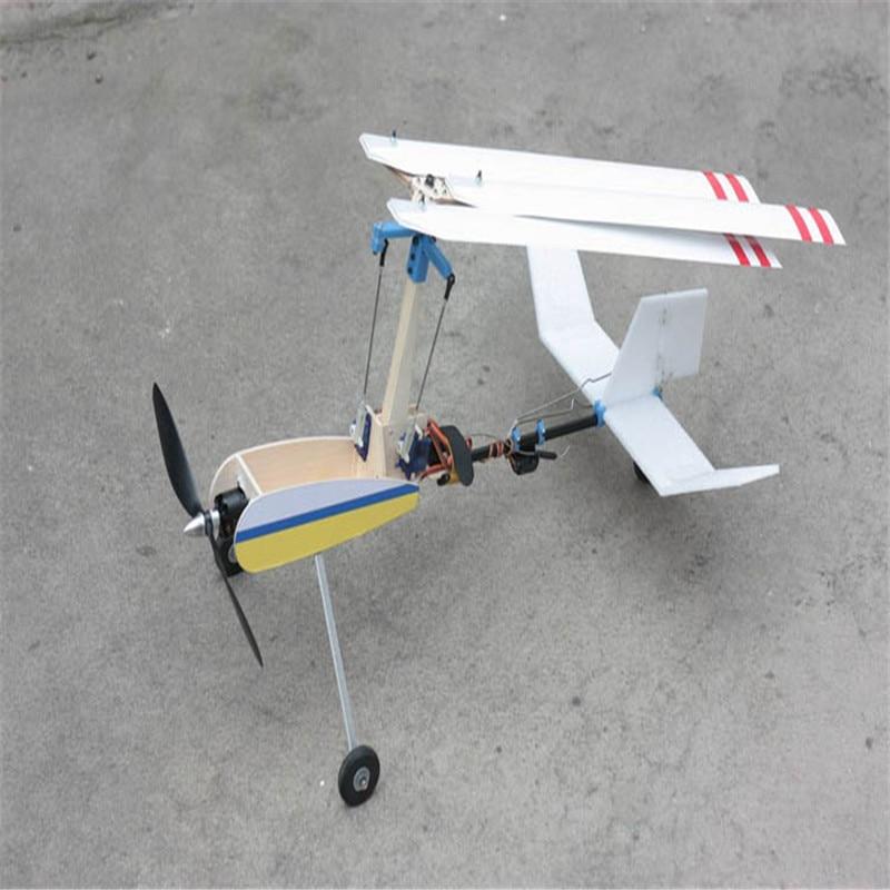 New Luobo V2S Dual Operation Autogyro Gyroplane Airplane Model KIT model aircraft