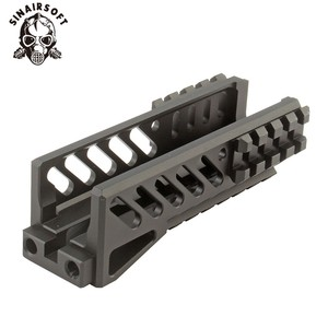 Image 1 - Hot Tactical Aks 74U Picatinny Rail Handguard Multi function Aluminum Cutting B 11 Hunting Airsoft Paintball Army Accessories