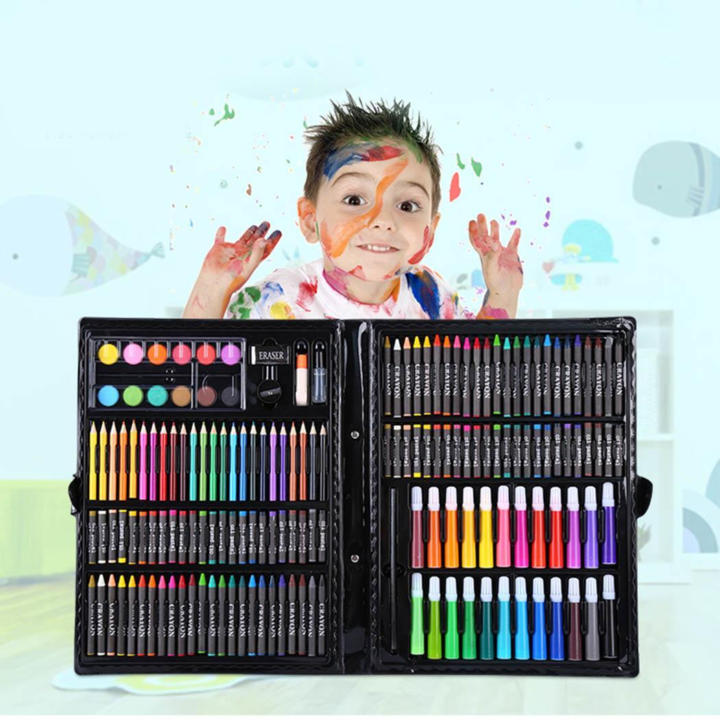 168Pcs Watercolor Pen Children Painting Tool Graffiti Coloring Watercolor Multicolor Pen Set School Supplies Office Accessories168Pcs Watercolor Pen Children Painting Tool Graffiti Coloring Watercolor Multicolor Pen Set School Supplies Office Accessories