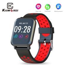 Купить с кэшбэком Smartwatch 2.5D Screen Gorilla Glass Heart Rate Monitor Pedometer Fitness Bracelet Activity Tracker Smart Watch for Android IOS