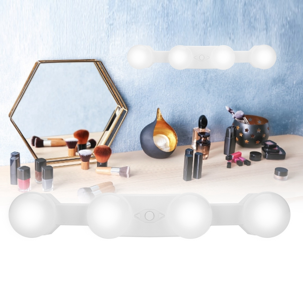 Haut Pflege Werkzeuge Schönheit & Gesundheit 4 Led-lampen Spiegel Hollywood Eitelkeit Make-up Front Spiegel Lichter Led Lampe Kit Scheinwerfer Super-brilliant Kit Diy Make-up Lampe 3