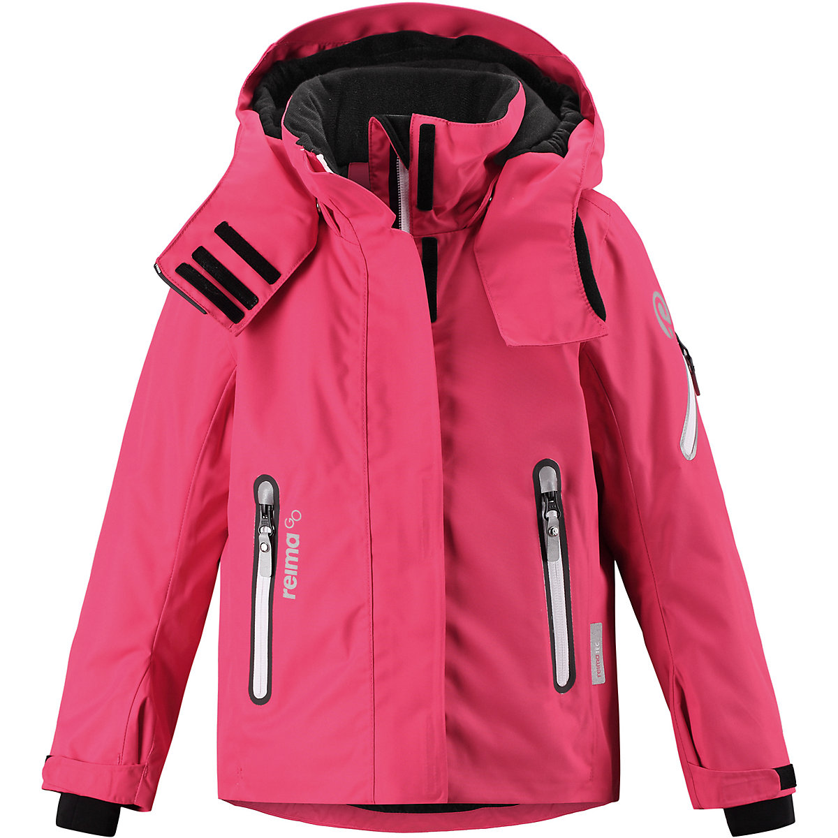 REIMA Jackets 8688754 For girls Polyester  winter fur baby clothing girl Jacket winter jacket men casual male coat warm men zipper outwear duck down jacket middle long mens parka with fur hood thick jackets