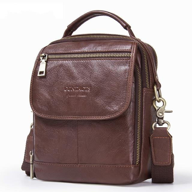85fc5f9ffc0 2019 Fashion Men's Genuine Leather Shoulder Bag Men Messenger Bag Crossbody  Bags For Male Handbags Brand Laether Luxury Bolsas