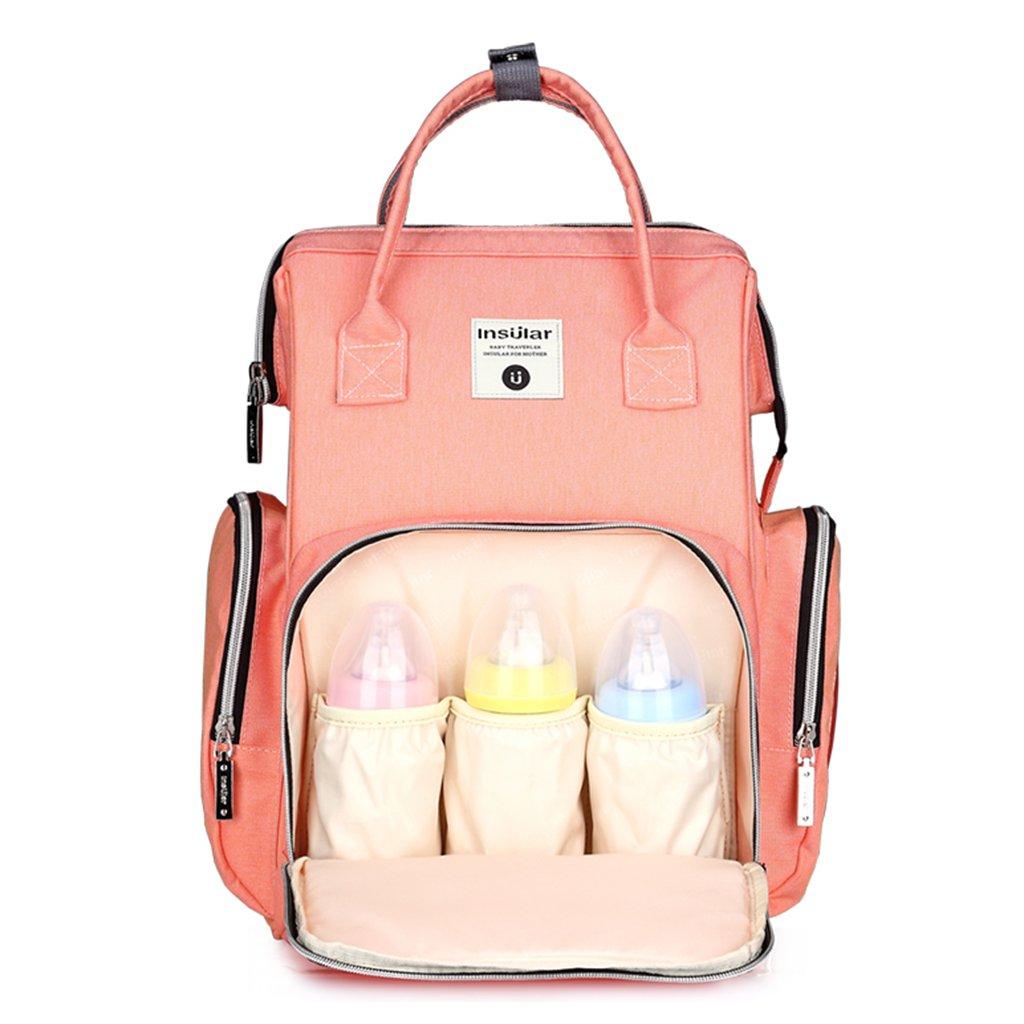 Imperméable à l'eau grande capacité maman maternité Nappy sac sac à langer sac à dos maman sac pour pour les soins de bébé activités de plein air