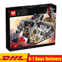 2018 Compatible Legoingly 75222 Lepin 05151 Star Plan Wars Slave I Betrayal At Cloud City Building Blocks Set Collection Toys