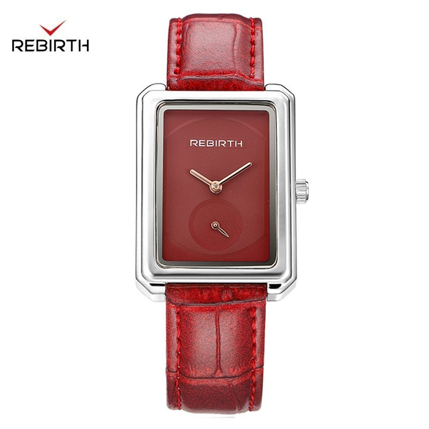 Quartz Watch Women Fashion New Arrive Womens Watches With Leather Strap Stainless Steel Case Rectangle Women Watches WaterproofQuartz Watch Women Fashion New Arrive Womens Watches With Leather Strap Stainless Steel Case Rectangle Women Watches Waterproof
