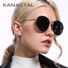 Fashion Ronde Gepolariseerde Zonnebril Vrouwen Vintage Elegante Rijden Eyewear Metalen Frame Vrouwelijke Oculos De Sol UV400