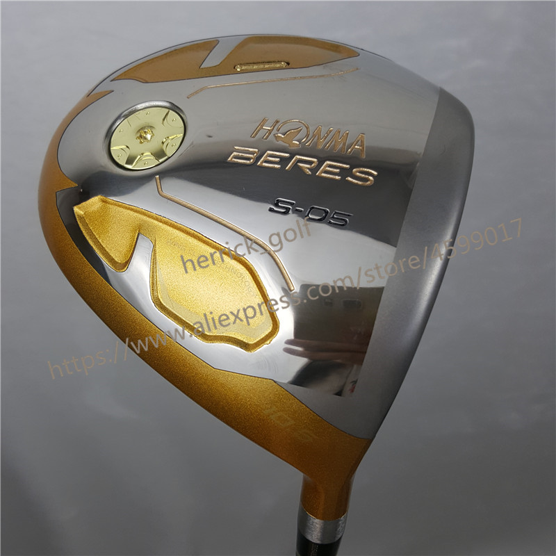 Golf Clubs HONMA S-05 4 Star Gold Color Golf Driver 9.5or10.5 Loft Graphite Shaft R Or S Flex Driver Clubs Free Shipping