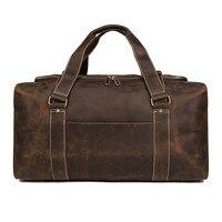 Мужская сумка из натуральной коровьей кожи мужской костюм вещевой мешок водостойкая дорожная сумка ручная багажная сумка для дорожные сум