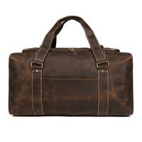 Men Handbag Genuine Cow Leather Men Suit Duffle Bag Waterproof Travel Bag Hand Luggage Bag For Travel Garment Bags For Clothes