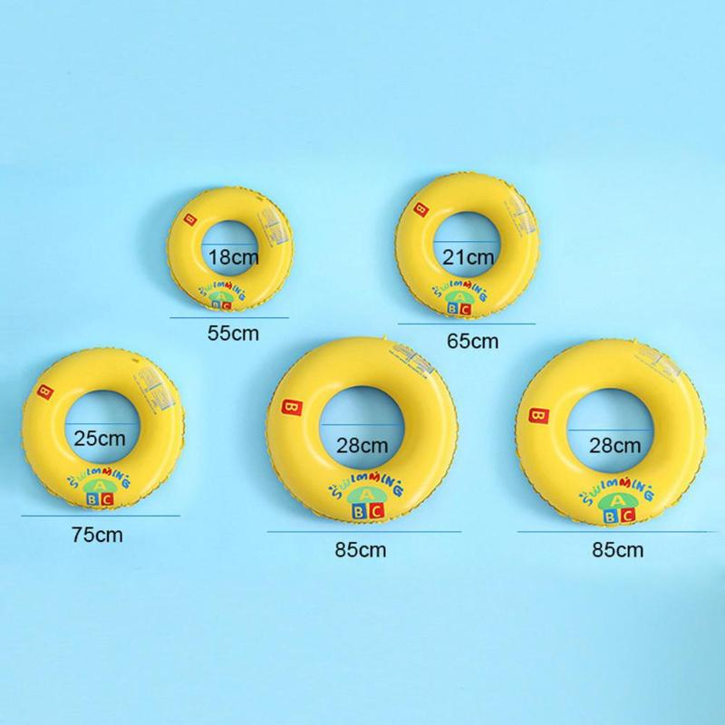 Kids Inflatable Swimming Rings Summer Children Swimming Pool Float Circle Baby Outdoor Beach Bath Water Play Float Seat Swim Toy