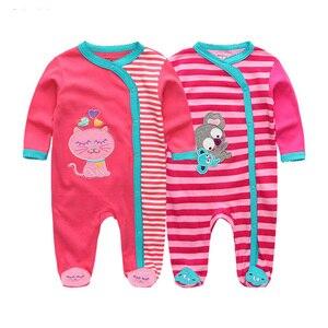 Image 5 - 2019 2 יח\חבילה Unicorn בני בגדי שטן קטן בגד גוף תינוקת בגדי יילוד Roupa דה bebe תינוק ילד בגדי כותנה