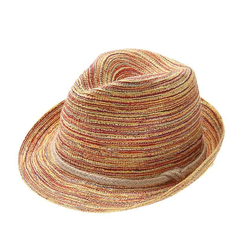 المرأة الصيف نسج Sunhat الموضة الأوروبية الشمس كتلة شاطئ البحر قبعة أنيقة كبيرة حافة القش قبعة الصيف شاطئ قبعات Chapeu Feminino