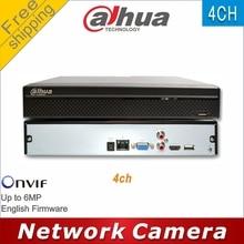 Free shipping Dahua NVR NVR2104HS S1 replace NVR2104HS S2  4CH NVR Onvif Network Video Recorder