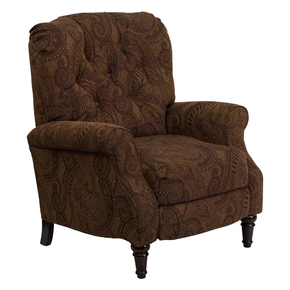 Flash Furniture Traditional Tobacco Fabric Tufted Hi Leg