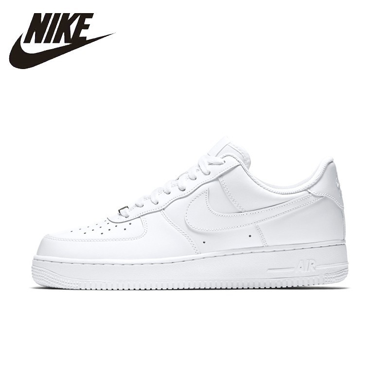 quality design 11ee9 7e67d NIKE AIR FORCE 1 Original Womens Skateboarding Shoes Breathable Stability  Support Sports Sneakers For Women Shoes