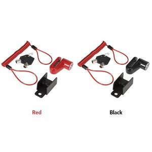 Image 5 - スクーターディスクブレーキロック盗難防止セキュリティスクーターホイールロックチェーンリングロック電動スクーターバイクオートバイ